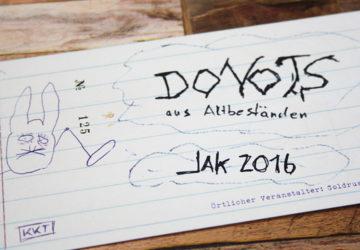 Donots Jahresabschlusskonzert 2016
