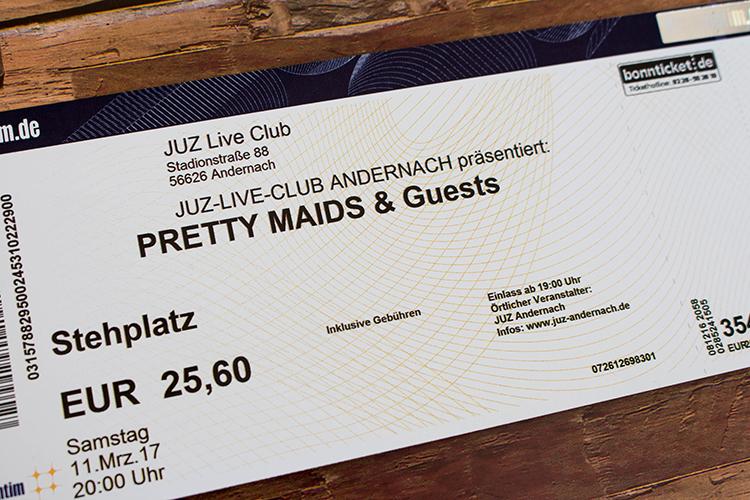 Pretty Maids - Andernach 2017