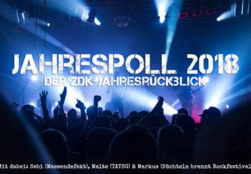 Musikalischer Jahresrückblick 2018 mit Sebi (Massendefekt), Malte (Tequila and the Sunrise Gang) und Markus (Süchteln brennt)