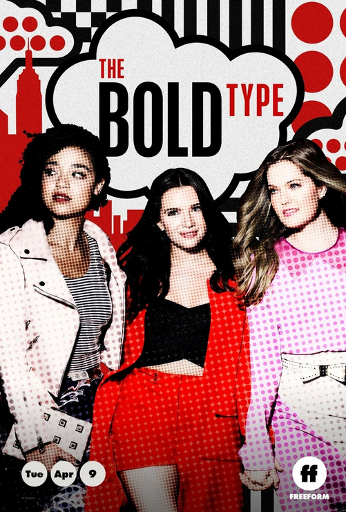 The Bold Type Serien-Poster